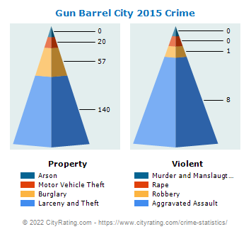 Gun Barrel City Crime 2015