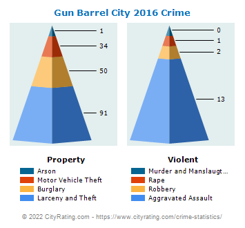Gun Barrel City Crime 2016