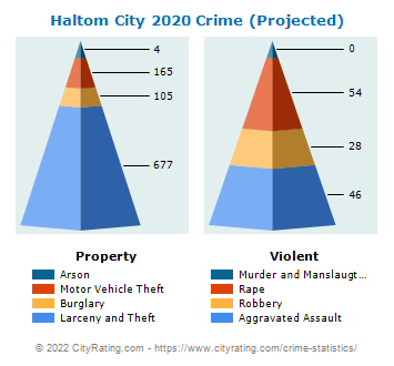 Haltom City Crime 2020