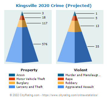 Kingsville Crime 2020