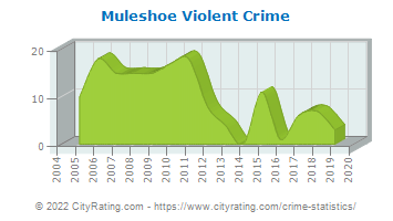 Muleshoe Violent Crime