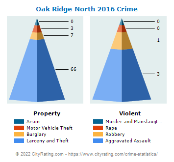 Oak Ridge North Crime 2016