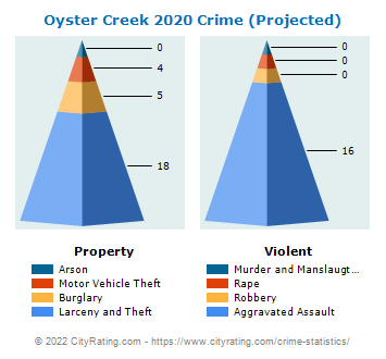 Oyster Creek Crime 2020