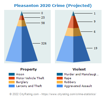 Pleasanton Crime 2020