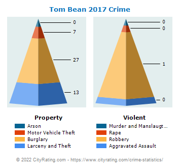 Tom Bean Crime 2017