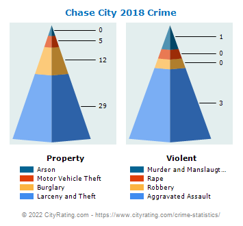 Chase City Crime 2018