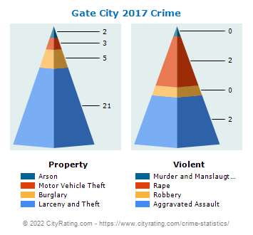Gate City Crime 2017