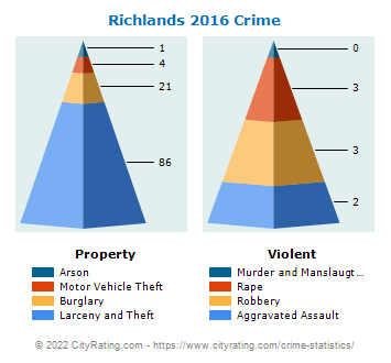 Richlands Crime 2016