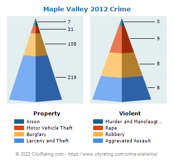 Maple Valley Crime 2012