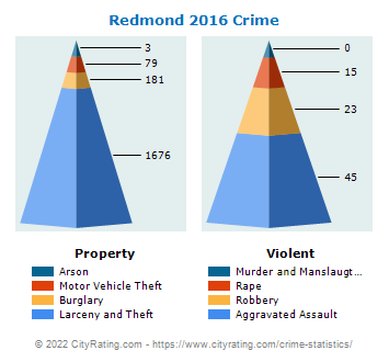 Redmond Crime 2016