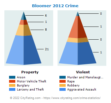 Bloomer Crime 2012