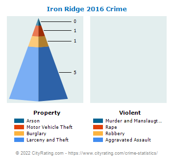 Iron Ridge Crime 2016