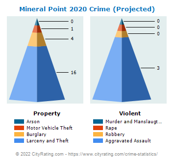 Mineral Point Crime 2020